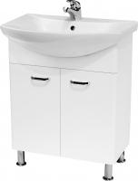 Мебель для ванной комнаты Шкафчик с умывальником CERSANIT Alpina/Omega 65
