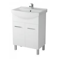 Мебель для ванной комнаты Шкафчик с умывальником CERSANIT СЕТ Olivia + Cersania 60