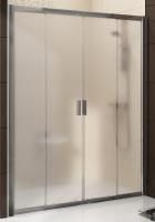 Душевая дверь RAVAK BLDP4 - 120 (Полированный алюминий - Transparent)