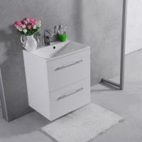 Мебель для ванной комнаты Шкафчик с умывальником FANCY MARBLE Santorini 60 + Amelia 60