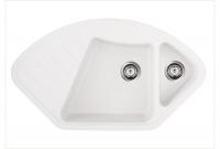 Кухонные мойки Кухонная мойка GRANADO Barcelona 1105 (white)