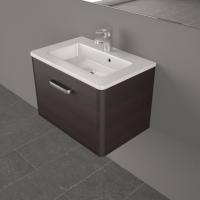 Мебель для ванной комнаты Шкафчик с умывальником FANCY MARBLE Bali 60 + Annabelle (Венге)