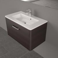 Мебель для ванной комнаты Шкафчик с умывальником FANCY MARBLE Bali 70 + Annabelle (Венге)