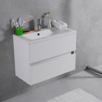Мебель для ванной комнаты Шкафчик с умывальником FANCY MARBLE Rodos + Elina 700