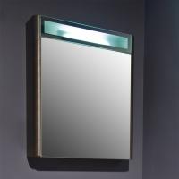 Мебель для ванной комнаты Шкафчик с зеркалом  FANCY MARBLE MC-Santorini 600 (Венге)