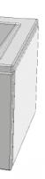 Комплектующие Панель боковая RAVAK Formy 80