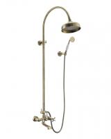Душевая программа Душевая система IMPRESE Cuthna T-10280 antiqua