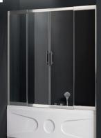 Шторки для ванной Шторка для ванны ATLANTIS PF-16-2 (160x150)