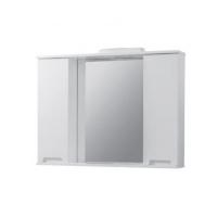 Мебель для ванной комнаты Шкафчик с зеркалом ЮВВИС Марко Z-11 95 с подсветкой