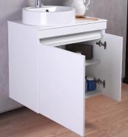 Мебель для ванной комнаты Шкафчик с умывальником FANCY MARBLE Sheldon 700 + Renata 430 (каменная столешница)