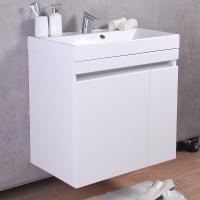 Мебель для ванной комнаты Шкафчик с умывальником FANCY MARBLE Sheldon 700 + Signe 700 (Белый)