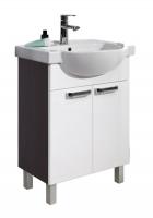 Мебель для ванной комнаты Набор мебели COLOMBO Акцент 1 белый/венге (65 см.)