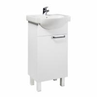 Мебель для ванной комнаты Набор мебели COLOMBO Акцент - 45 (белый)