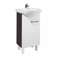 Мебель для ванной комнаты Набор мебели COLOMBO Акцент - 45 (белый/венге)