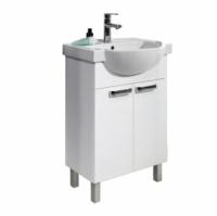 Мебель для ванной комнаты Набор мебели COLOMBO Акцент - 55 (белый)