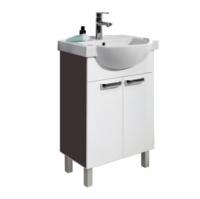 Мебель для ванной комнаты Набор мебели COLOMBO Акцент - 55 (белый/венге)