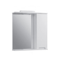 Мебель для ванной комнаты Шкафчик с зеркалом ЮВВИС Марко Z-1 60 R с подсветкой