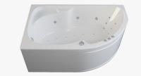 Гидромассажные ванны  Ванна RIVA POOL Nabucco 170x105 с системой HydroAeroOPTIMA