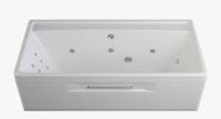 Гидромассажные ванны  Ванна RIVA POOL Rossini 180x85 с системой HydroPLUS