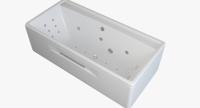 Гидромассажные ванны  Ванна RIVA POOL Rossini 180x85 с системой HydroAeroOPTIMA