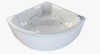 Гидромассажные ванны  Ванна RIVA POOL Turandot 175x175 с системой HydroAeroMAX