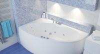 Гидромассажные ванны  Ванна RIVA POOL Manon 170x110 с системой HydroAeroOPTIMA
