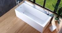 Гидромассажные ванны  Ванна RIVA POOL Viola 170х70 с системой HydroOPTIMA
