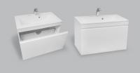 Мебель для ванной комнаты Шкафчик с умывальником NORWAY Eva 800 M105080