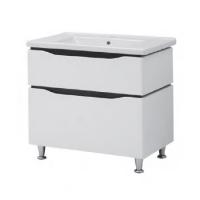 Мебель для ванной комнаты Шкафчик с умывальником ЮВВИС Сенатор Веста 60 ТНБ-2 Д