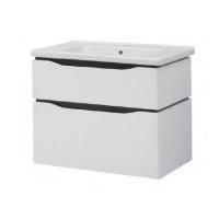 Мебель для ванной комнаты Шкафчик с умывальником ЮВВИС Сенатор Веста 60 ТПБ-2 Д