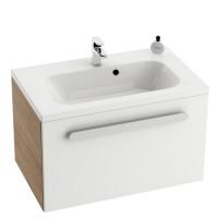 Мебель для ванной комнаты Шкафчик под умывальник RAVAK SD Chrome I 80х49 (цвет корпуса Капучино)