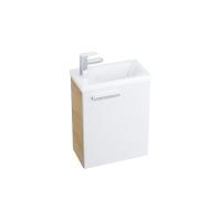 Мебель для ванной комнаты Шкафчик под умывальник RAVAK SD Chrome 40x22 (цвет корпуса Капучино)