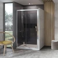 Душевые двери Душевые двери RAVAK 10° 10DP2 - 120 (Полированный алюминий - Transparent)