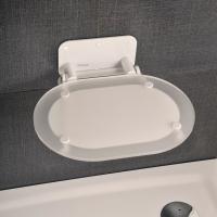 Аксессуары для ванной комнаты Сидение RAVAK Chrome Clear/White