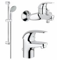 Смесители для ванны Набор смесителей GROHE Euroeco 123226S