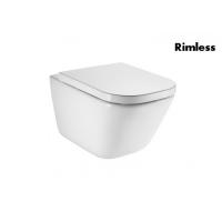 Унитазы Унитаз подвесной ROCA Gap Rimless A34H47C000 с сиденьем SoftClose