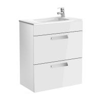 Мебель для ванной комнаты Шкафчик с умывальником ROCA Debba 60 A855905806 (белый)