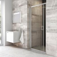 Душевые двери Душевая дверь RAVAK BLDZ2 - 80 (Полированный алюминий - Transparent)