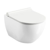 Унитазы Унитаз подвесной RAVAK WC Uni Chrome RimOff