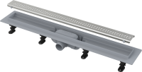 Душевые трапы Сливной линейный трап ALCA PLAST APZ9-550m SIMPLE