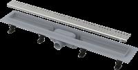 Душевые трапы Сливной линейный трап ALCA PLAST APZ10-650m SIMPLE