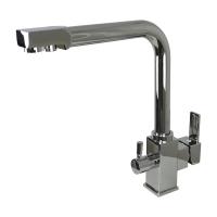 Смесители для кухни Cмеситель кухонный GLOBUS LUX Lazer GLLR-0100 (под осмос)