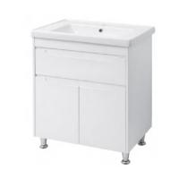 Мебель для ванной комнаты Шкафчик с умывальником ЮВВИС Валенсия Кантэ 70 ТН-3 Д