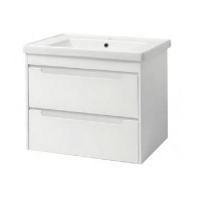Мебель для ванной комнаты Шкафчик с умывальником ЮВВИС Валенсия Кантэ 70 ТП-2 Д