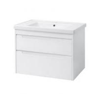 Мебель для ванной комнаты Шкафчик с умывальником ЮВВИС Валенсия Кантэ 80 ТПБ-2 Д