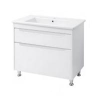 Мебель для ванной комнаты Шкафчик с умывальником ЮВВИС Валенсия Принц 90 ТНБ-2 Д
