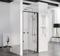 Душевые двери Душевая дверь RAVAK PDOP1- 90 (Черный - Transparent)