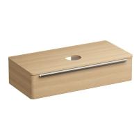 Мебель для ванной комнаты Шкафчик под умывальник на столешницу SUD 110x53 (дуб)