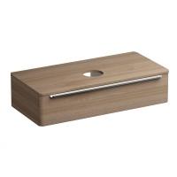 Мебель для ванной комнаты Шкафчик под умывальник на столешницу SUD 110x53 (орех)