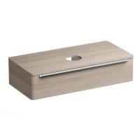 Мебель для ванной комнаты Шкафчик под умывальник на столешницу SUD 110x53 (сатин)